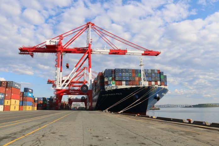 'Absolutely massive vessel' sets record upon arrival in Halifax