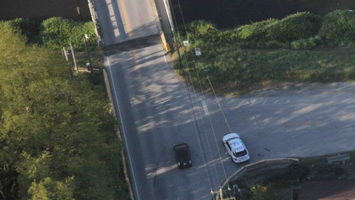 Police: Human remains found in Surrey, one person in custody