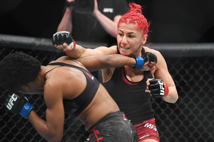 Veteran Canadian strawweight Randa Markos loses UFC bout by disqualification, Report