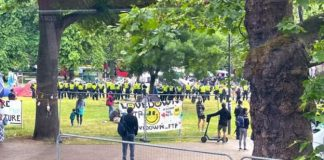 Anti-lockdown protesters evicted from London camp
