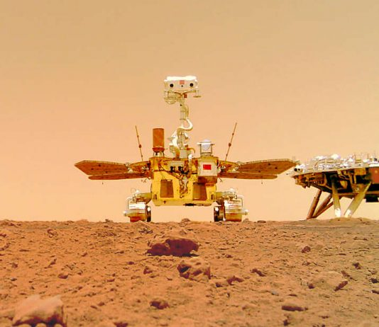 China unveils new Mars images showing national flag on red planet (Photo)