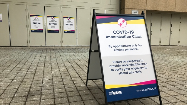 Immunization Clinic: 30,000 new appointments for Moderna COVID-19 vaccine being added at city-run clinics