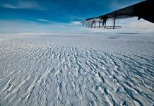 Researchers say key Antarctic ice shelf is breaking up faster than expected
