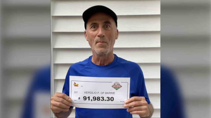 An Ontario Man Won Big Twice On The Same Lottery Ticket