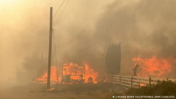 'Apocalyptic': Out-of-control fire consumes B.C. town, First Nation reserve amid record heat