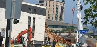 Crane collapses at downtown Kelowna construction site, Report