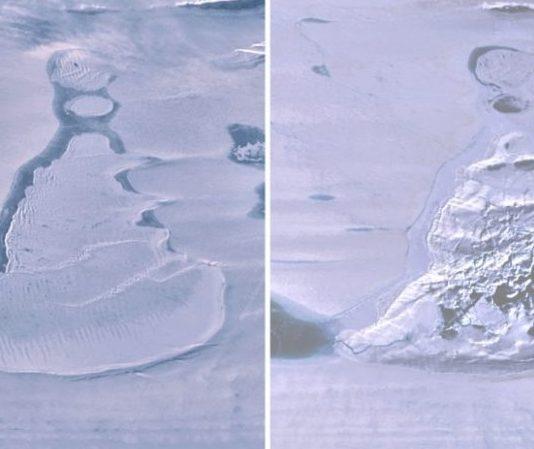 Enormous Antarctic lake vanishes in three days