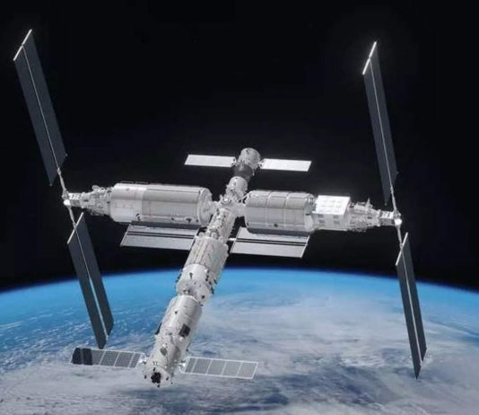 China Is Planning To Build Megastructures In Space including solar power plants