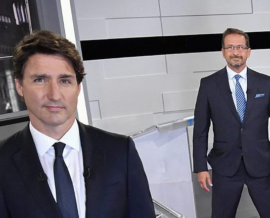 Justin Trudeau attacks Blanchet and O'Toole while campaigning in Quebec