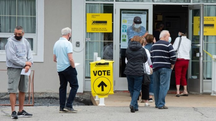 Nearly 6Mln Canadians Vote in Advance Polls, Up 18.5% Over 2019 Elections