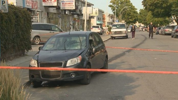 Nine people injured after driver loses control of car outside Montreal polling station